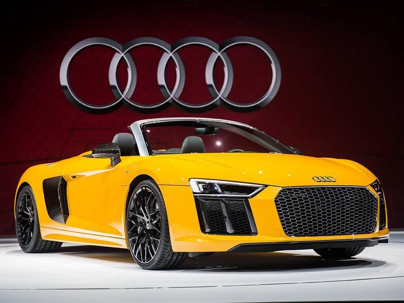 Audi R8 Spyder delivers undiluted emotion
