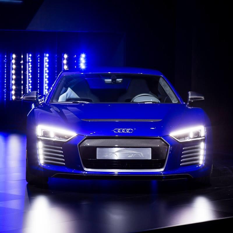 Audi R8 e-tron's extras make it capable of autonomous driving-CES 2015 Asia