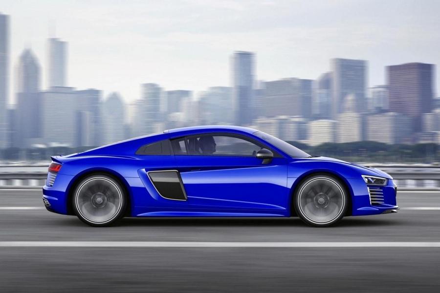Audi R8 e-tron's extras make it capable of autonomous driving-CES Asia Shanghai