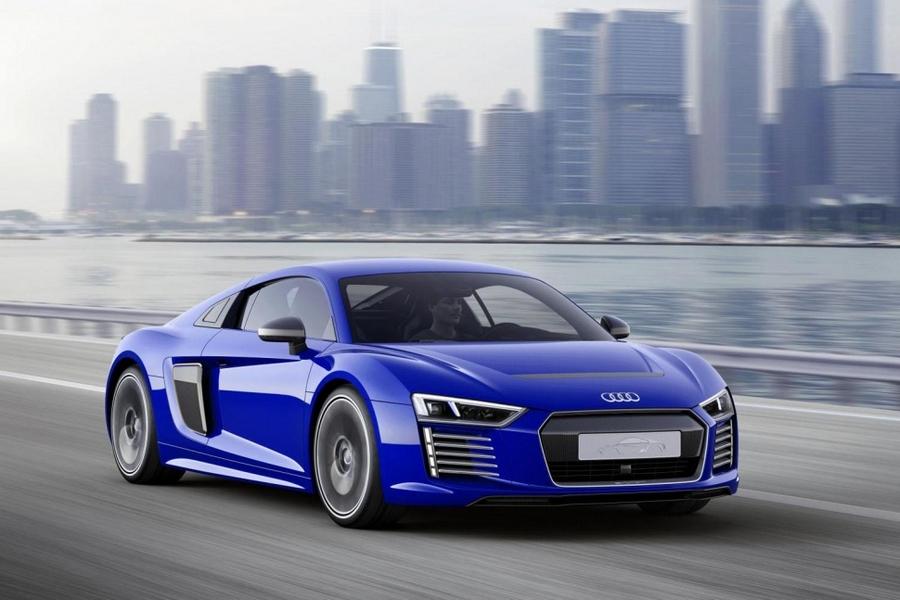 Audi R8 e-tron's extras make it capable of autonomous driving