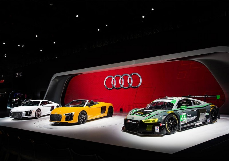 Audi booth at the NYIAS 2016-