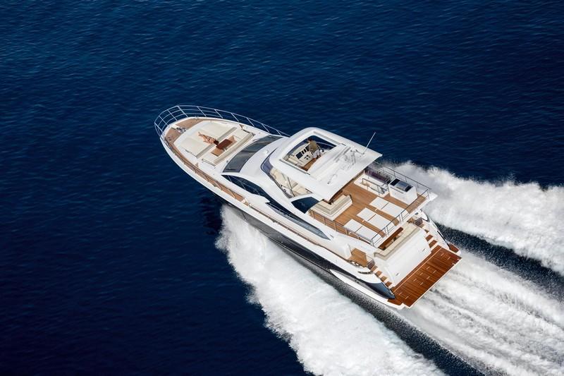 Azimut Yachts's fleet -Azimut 72-