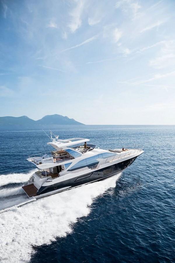 Azimut Yachts's fleet -Azimut 72