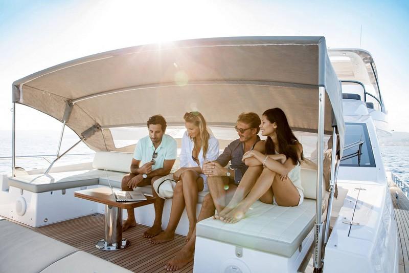 Azimut Yachts's fleet -Azimut 72yacht