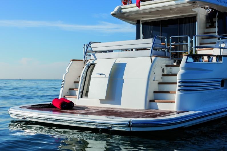 Azimut Yachts's fleet -Azimut 76magellano