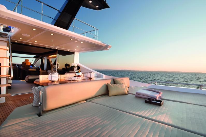 Azimut Yachts's fleet -Azimut 77S---