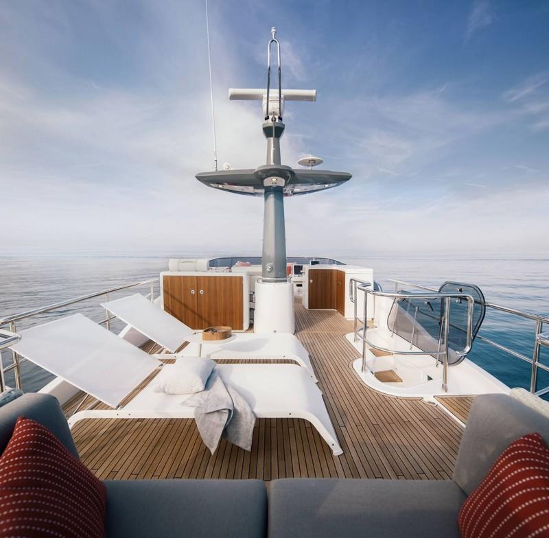 Azimut Yachts's fleet -Azimut Magellano 66--