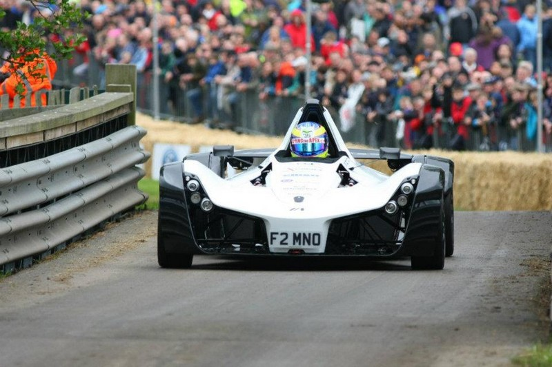 BAC Mono on the track 2012
