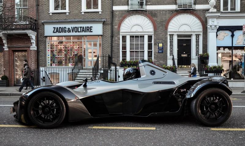 BAC Mono outside Zadig & Voltaire 2013