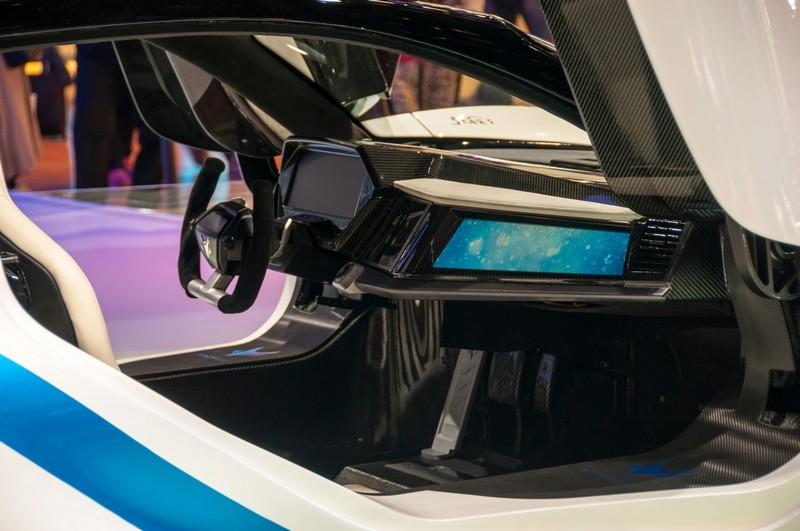 BAIC Arcfox-7 electric supercar in China -Beijing Auto Show2016-