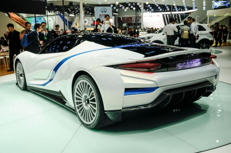 BAIC Arcfox-7 electric supercar in China -Beijing Auto Show2016
