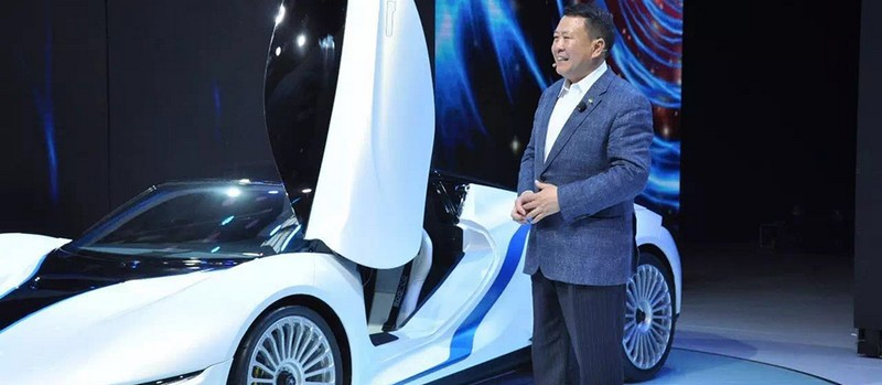 BAIC unveils Arcfox-7 electric supercar in China