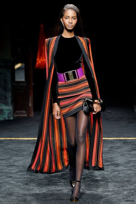 BALMAIN FALL WINTER 2015 WOMENSWEAR SHOW-Look 14