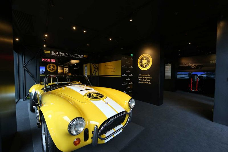 BAUME & MERCIER CELEBRATES THE NEW CAPELAND SHELBY®COBRA 1963 LIMITED EDITION WITH A POP-UP STORE IN HONG KONG-