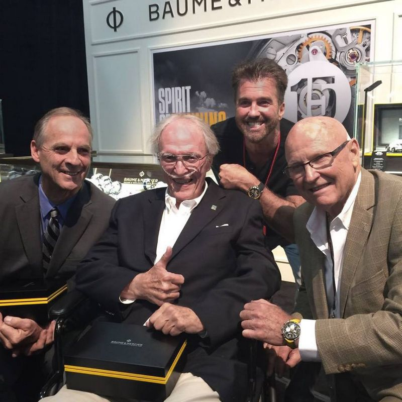 BAUME & MERCIER - THE NEW CAPELAND SHELBYCOBRA 1963 LIMITED EDITION-