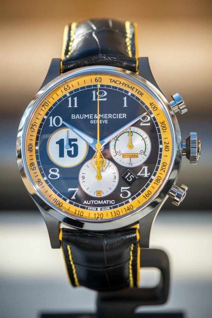 BAUME & MERCIER - THE NEW CAPELAND SHELBYCOBRA 1963 LIMITED EDITION