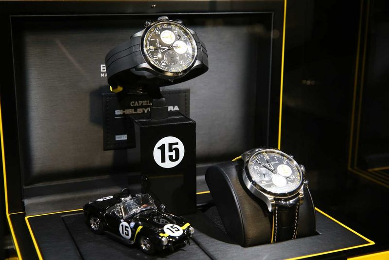 BAUME & MERCIER - THE NEW CAPELAND SHELBYCOBRA 1963 LIMITED EDITION WITH A POP-UP STORE IN HONG KONG-2016