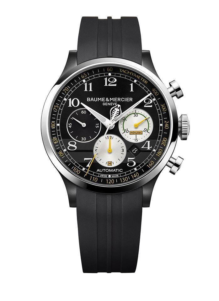 BAUME & MERCIER - THE NEW CAPELAND SHELBYCOBRA 1963 LIMITED EDITION watches