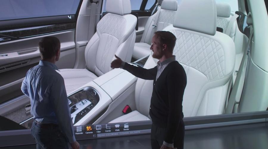 BMW 7 Series 2015 - Adrian van Hooydonk, BMW's Head of Design- video