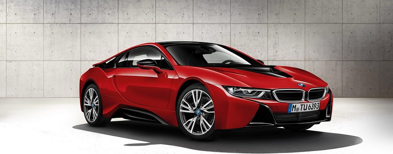BMW i8 Protonic Red edition---