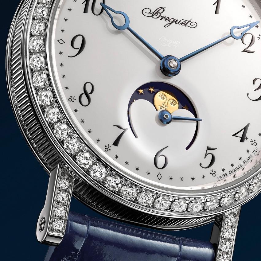 BREGUET Classique Phase de Lune Dame 9088 watch-details