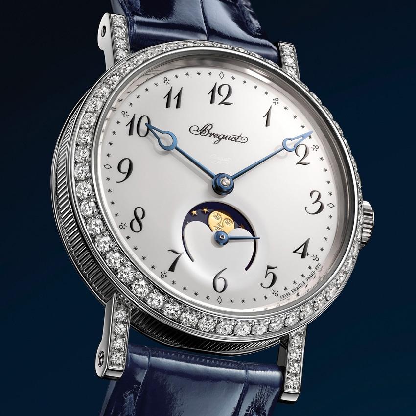 BREGUET Classique Phase de Lune Dame 9088 watch