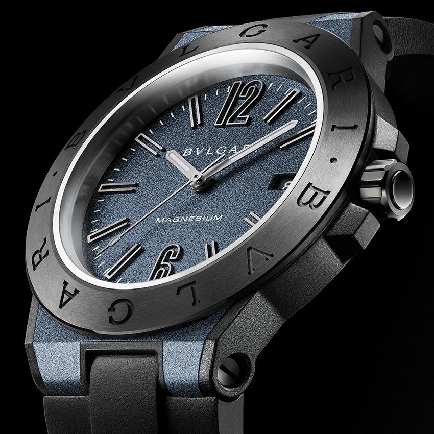 BVLGARI Diagono Magnesium watch - baselworld 2015  0blue