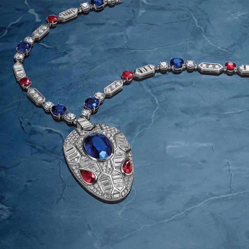 BVLGARI introduces the new Serpenti jewellery collection