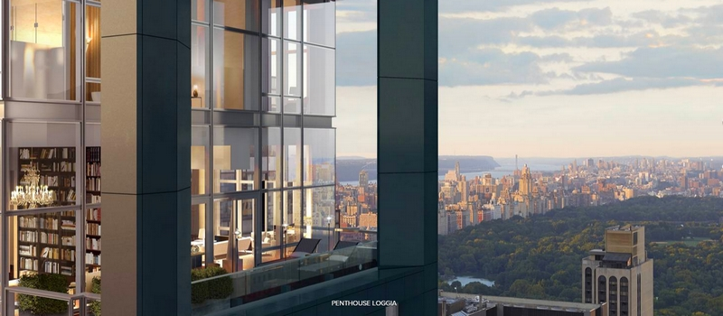 Baccarat Hotel & Residences New York -Penthouse Loggia