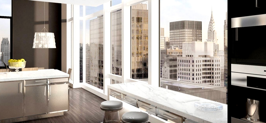 Baccarat Hotel & Residences New York - kitchen