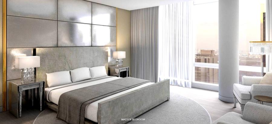 Baccarat Hotel & Residences New York - master bedroom