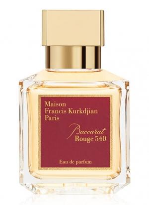 Baccarat Rouge 540 in the iconic Maison Francis Kurkdjian bottle-