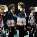 Backstage preview from the newest GiorgioArmani Fall Winter 2016-2017 Womens collection-