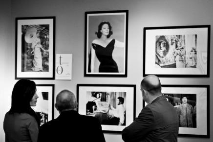Balenciaga's creations for cinema exibited at Viura Hotel Spain