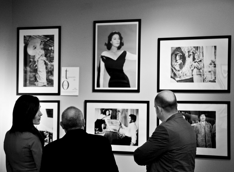 Balenciaga's creations for cinema exibited at Hotel Viura in Villabuena de Álava, La Rioja, Spain-2015