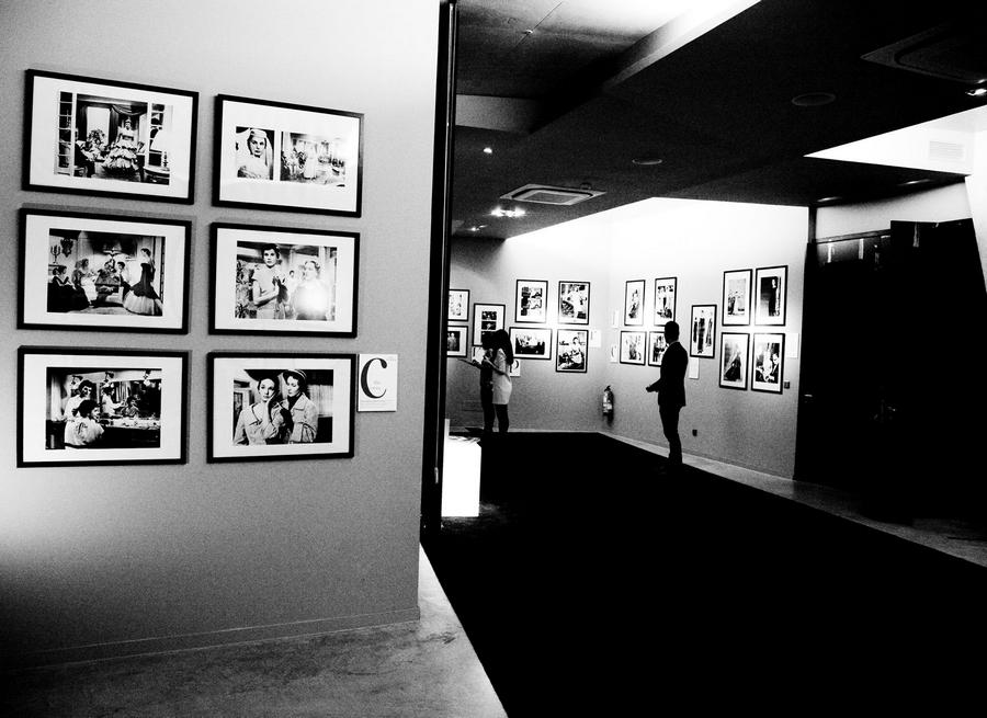 Balenciaga's creations for cinema exibited at Hotel Viura in Villabuena de Álava, La Rioja, Spain