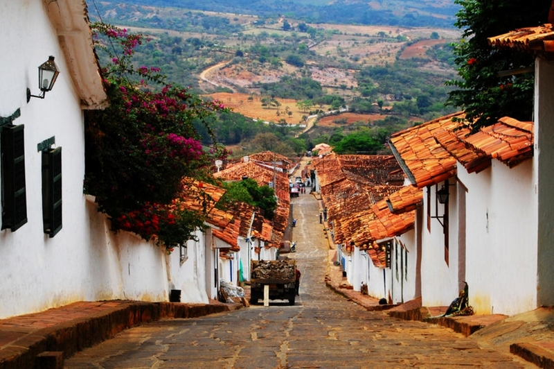 Barichara, Colombia-It's a small town and one of Colombia's most scenic