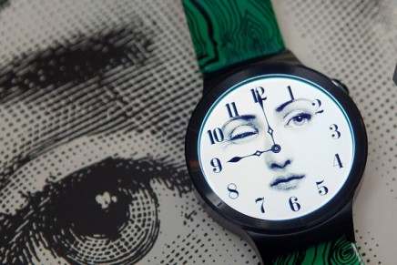 Barnaba Fornasetti smartwatch for Vogue China