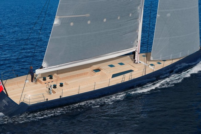 Launch of Barong D, the larger evolution of Wally 110  yachts