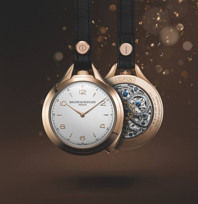 Baume et Mercier- Clifton 1830 Pocket Watch Five Minute Repeater