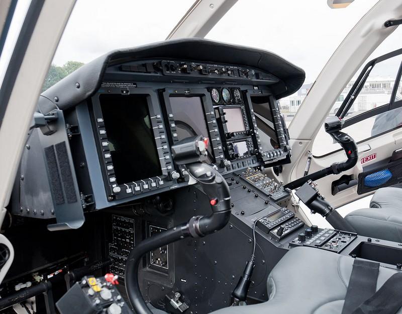 Bell 429 cockpit