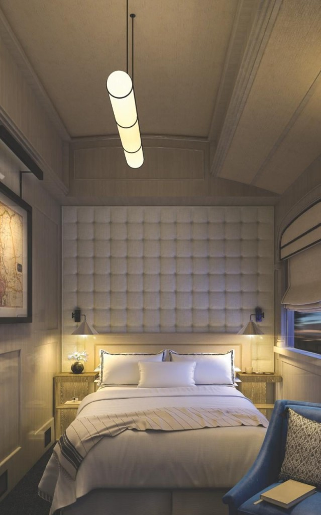 Belmond Andean Explorer - Peru's First Luxury Sleeper Train-2017 -cabin rendering