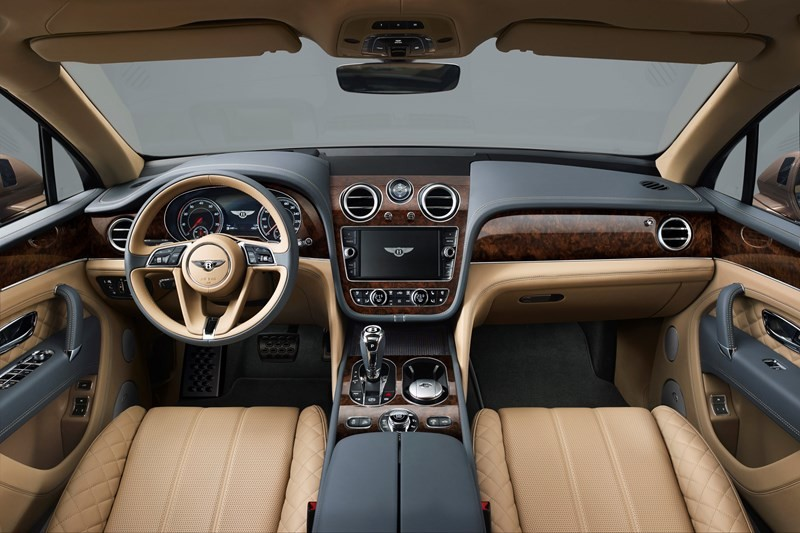 Bentley Bentayga  int