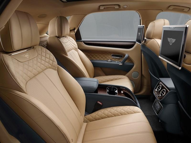 Bentley Bentayga  interior-