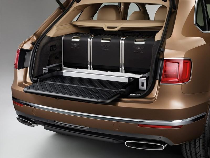 Bentley Bentayga luggage