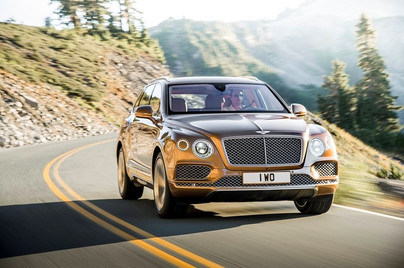 Bentley Bentayga - the fastest, most powerful, most luxurious and most exclusive SUV in the world
