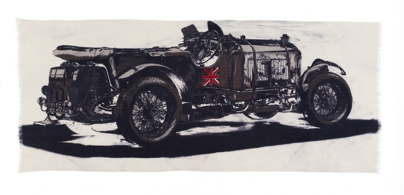 Bentley Blower Cashmere Scarf