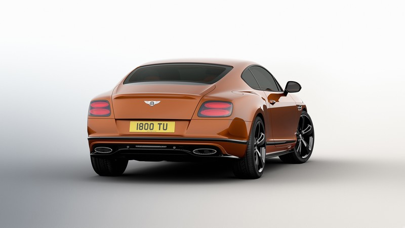 Bentley Continental GT Speed Black Edition-