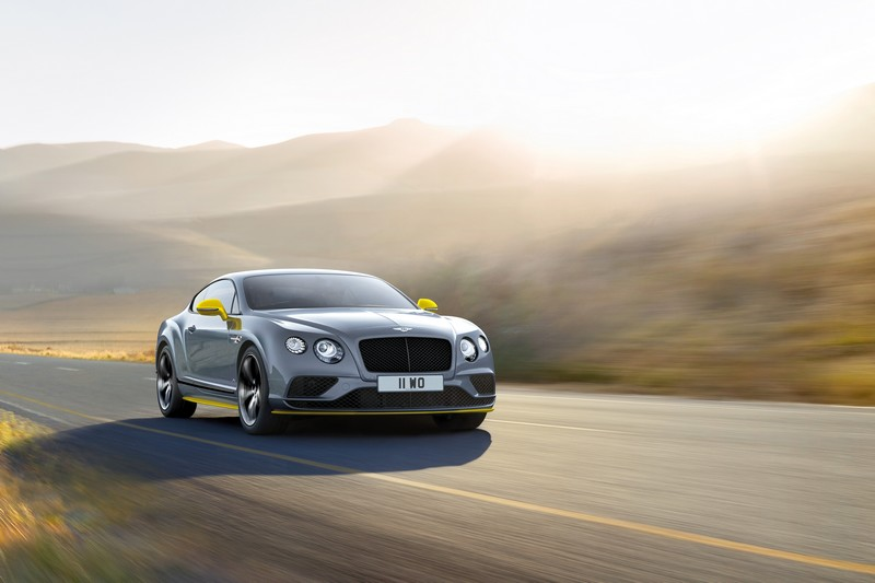 Bentley Continental GT Speed Black Edition mode;l