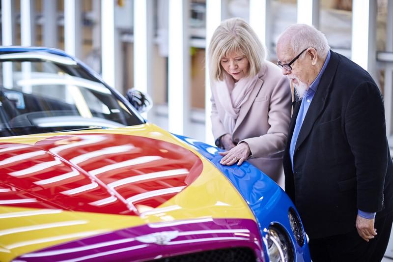 Bentley - Peter Blake Pop Art Bentley set to raise thousands for Charity-